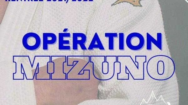 Opération de Rentrée par Mizuno !